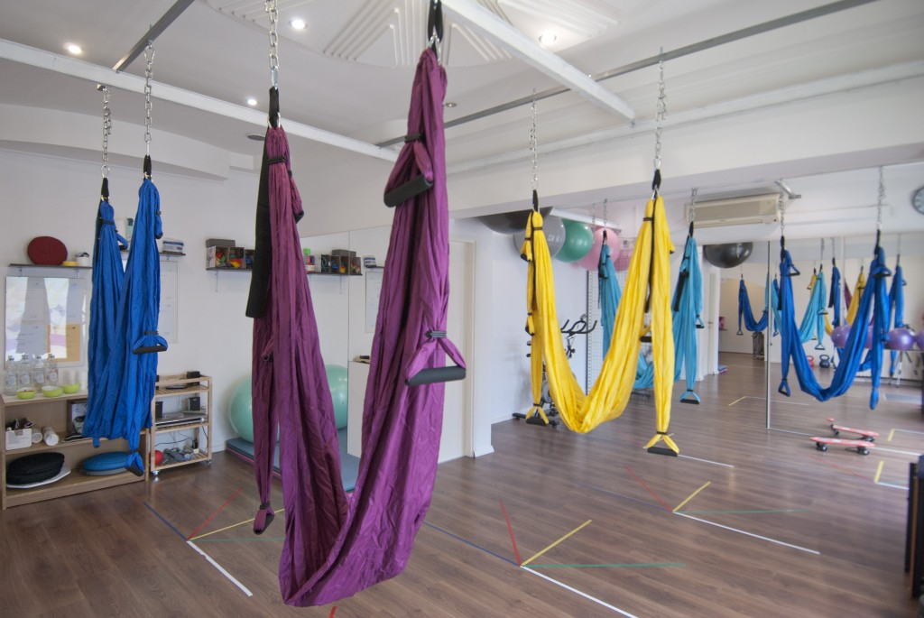 yoga swing gravity